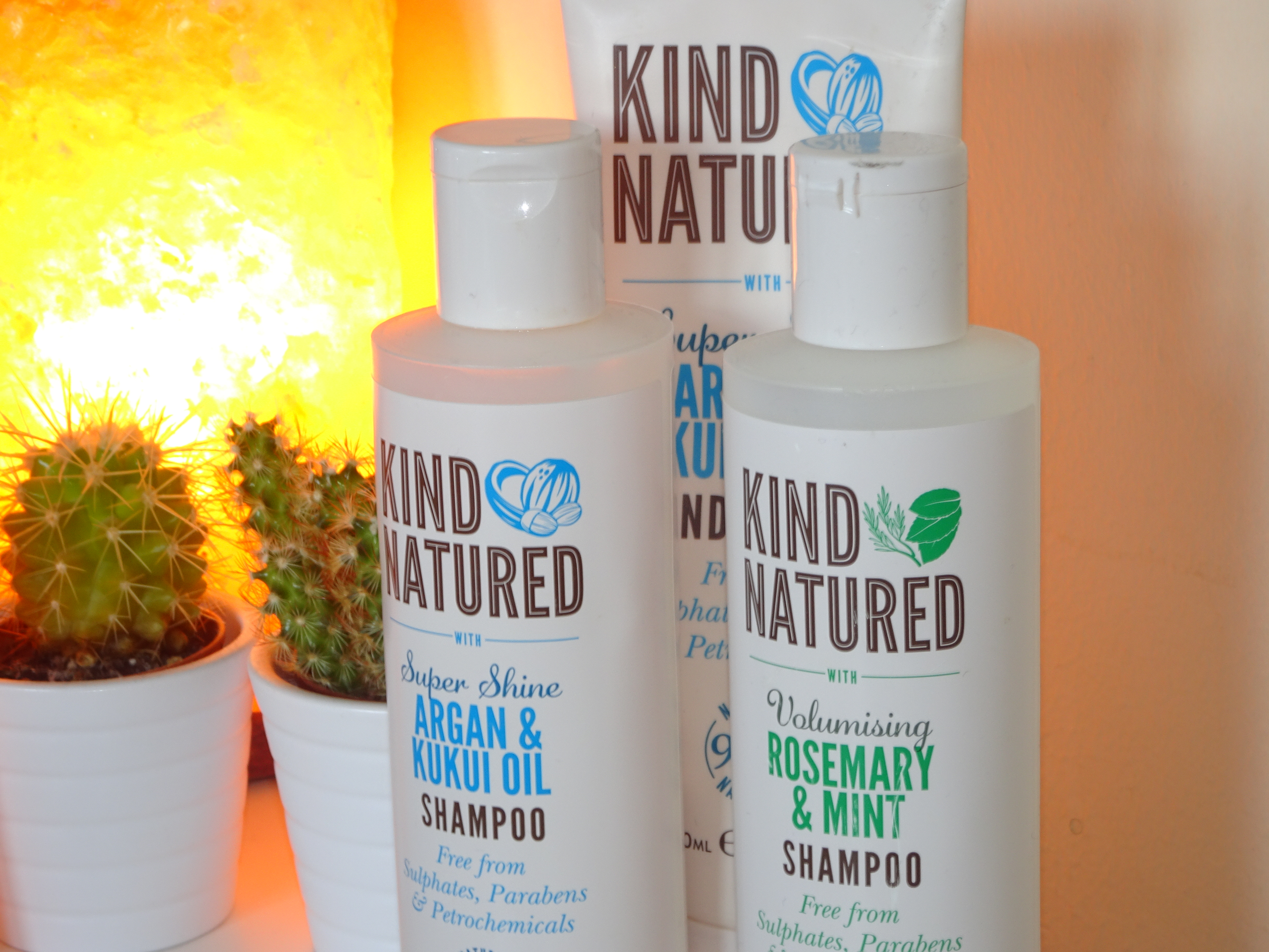 Kind Natured shampoo and conditioner