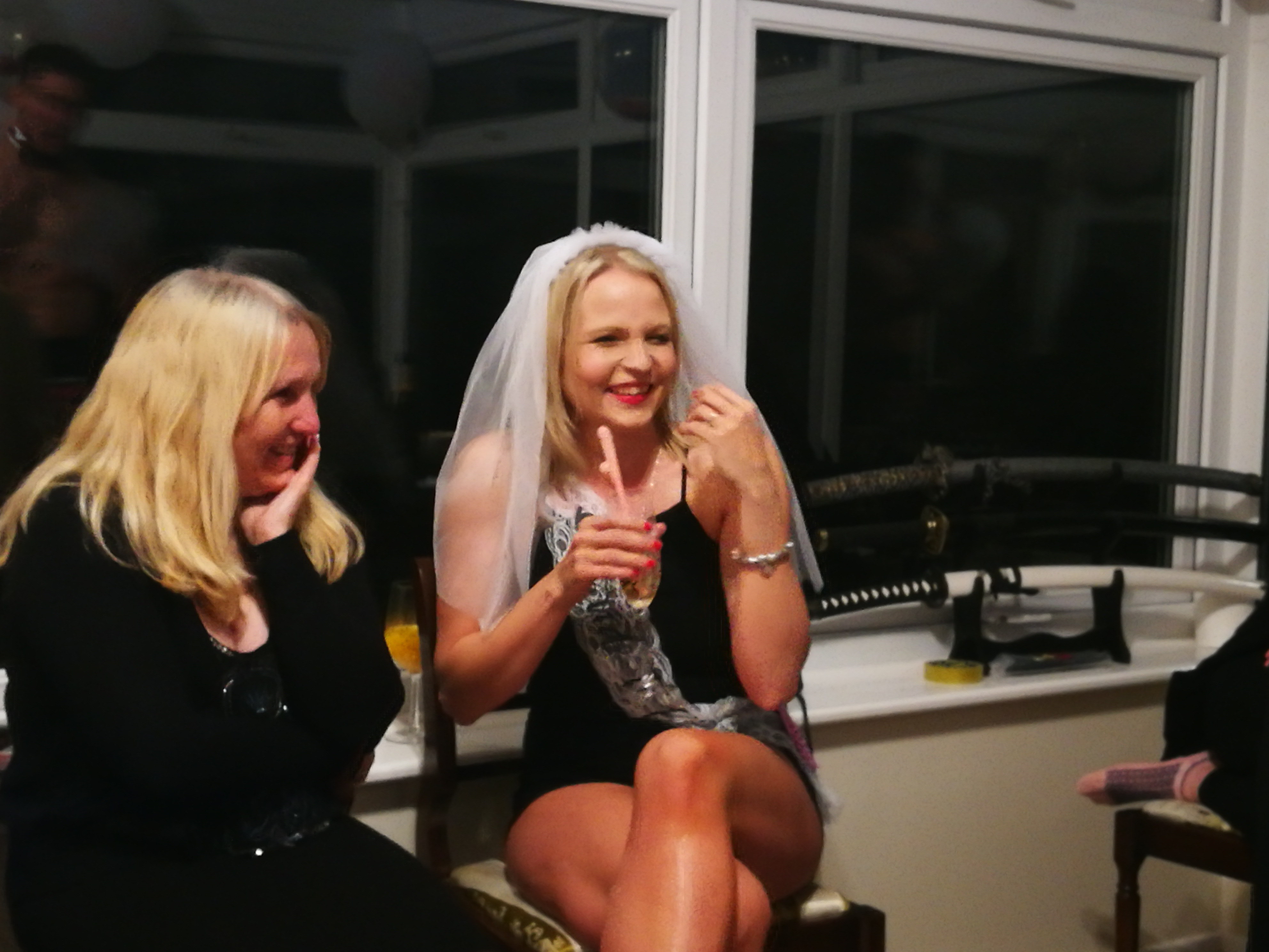 Hen do, bride and mother of bride
