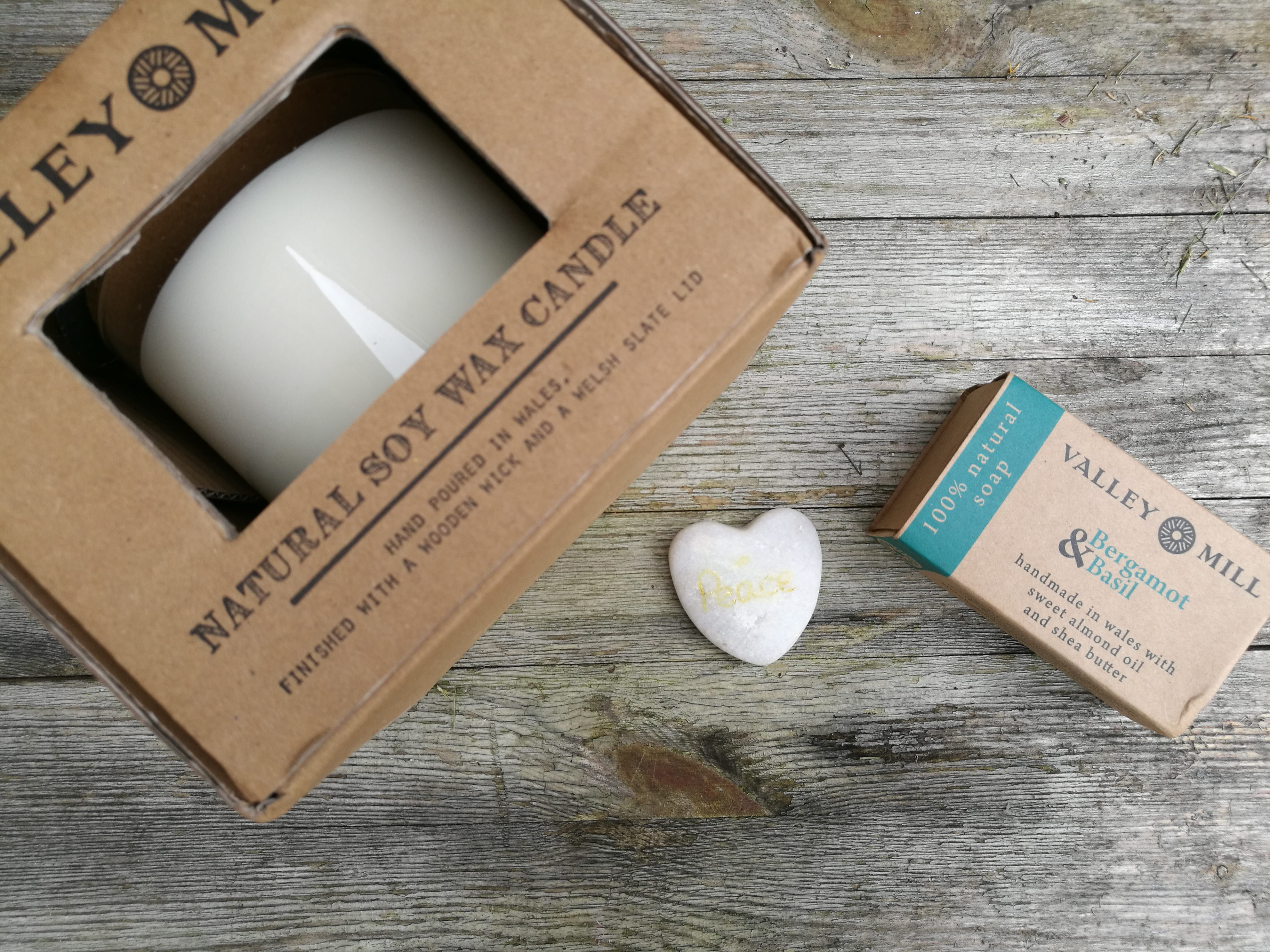 Soy Wax Candle & Soap With Valley Mill