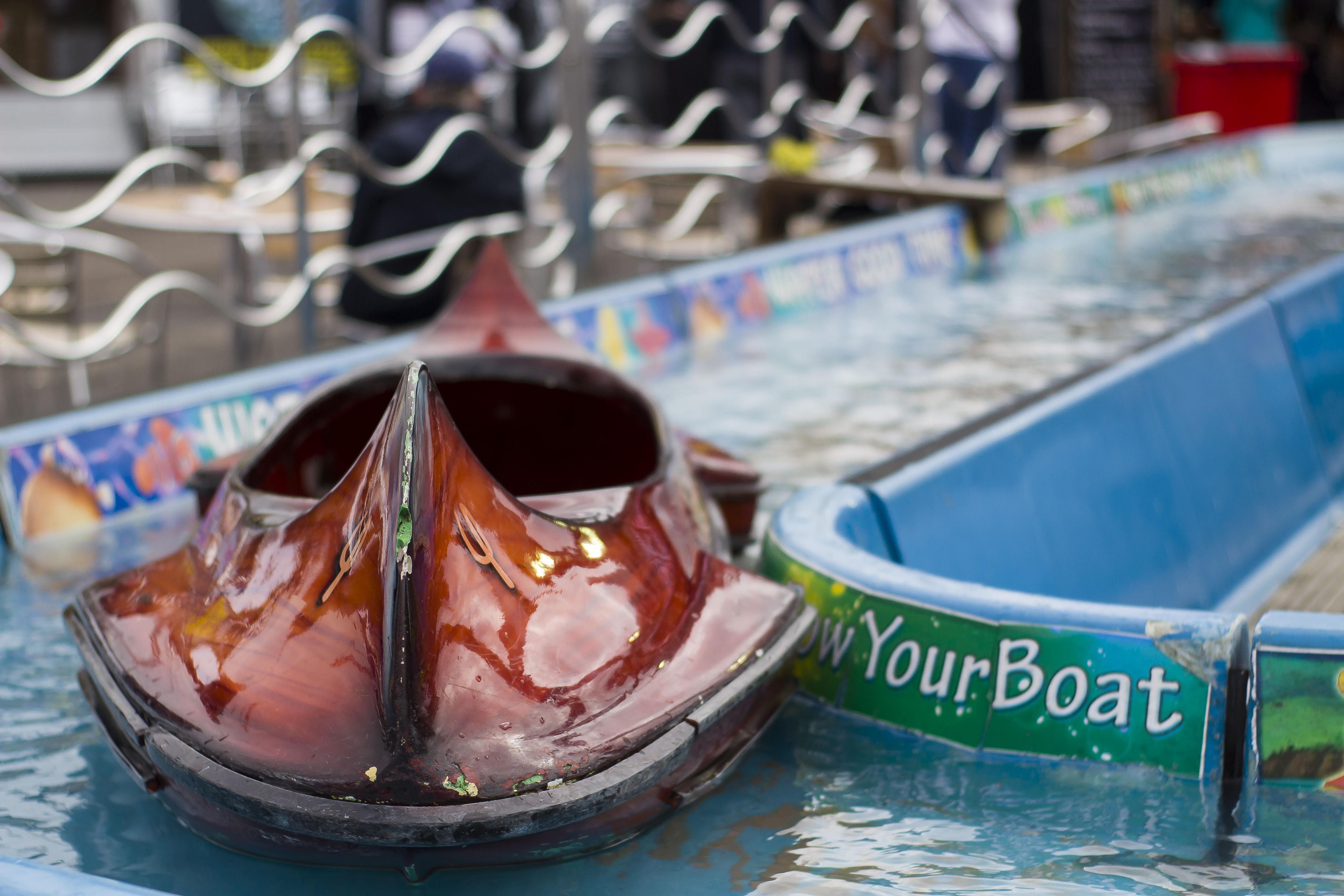kid rides at Southampton Boat Show 2017