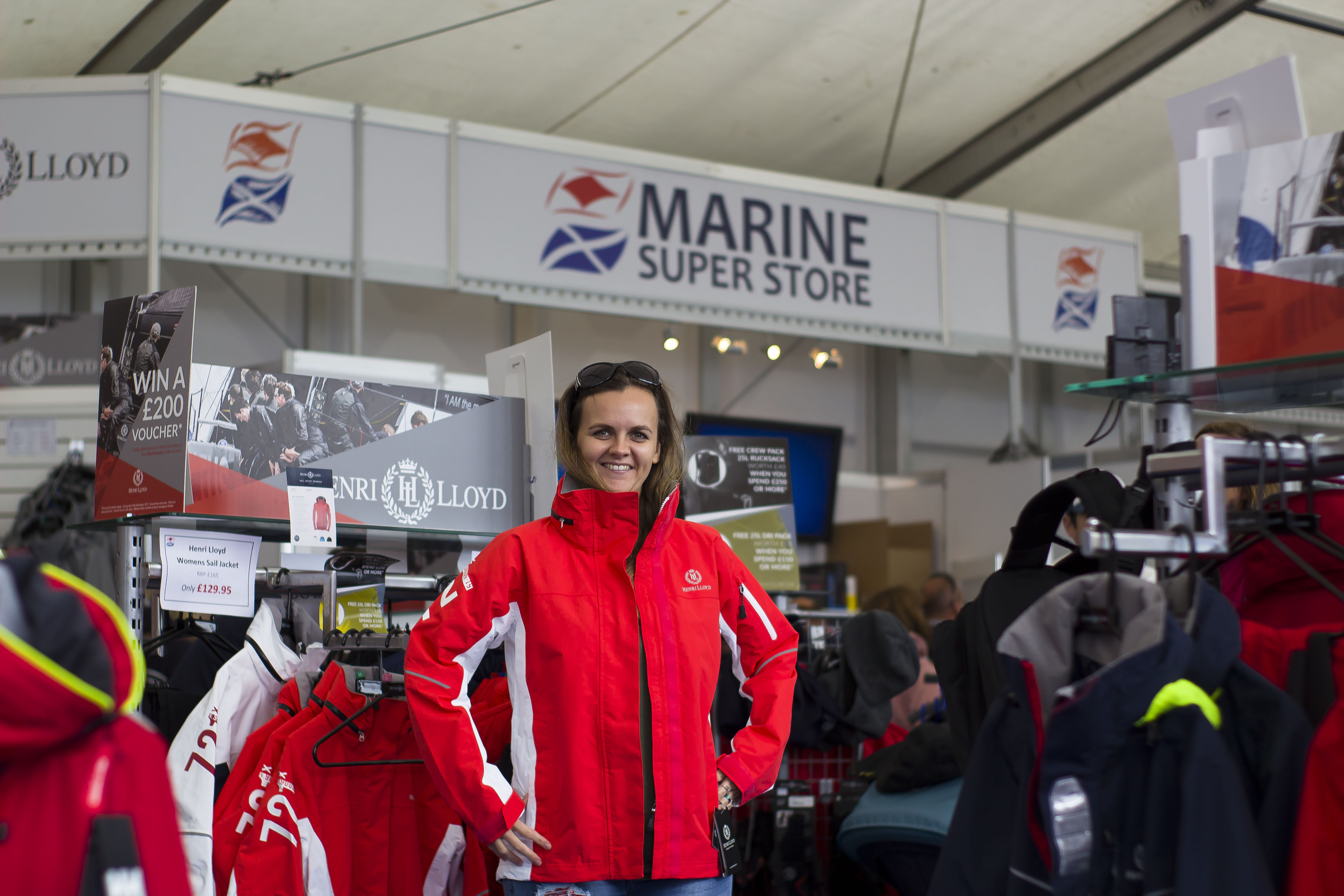 Marine Super Store Southampton Boat Show 2017