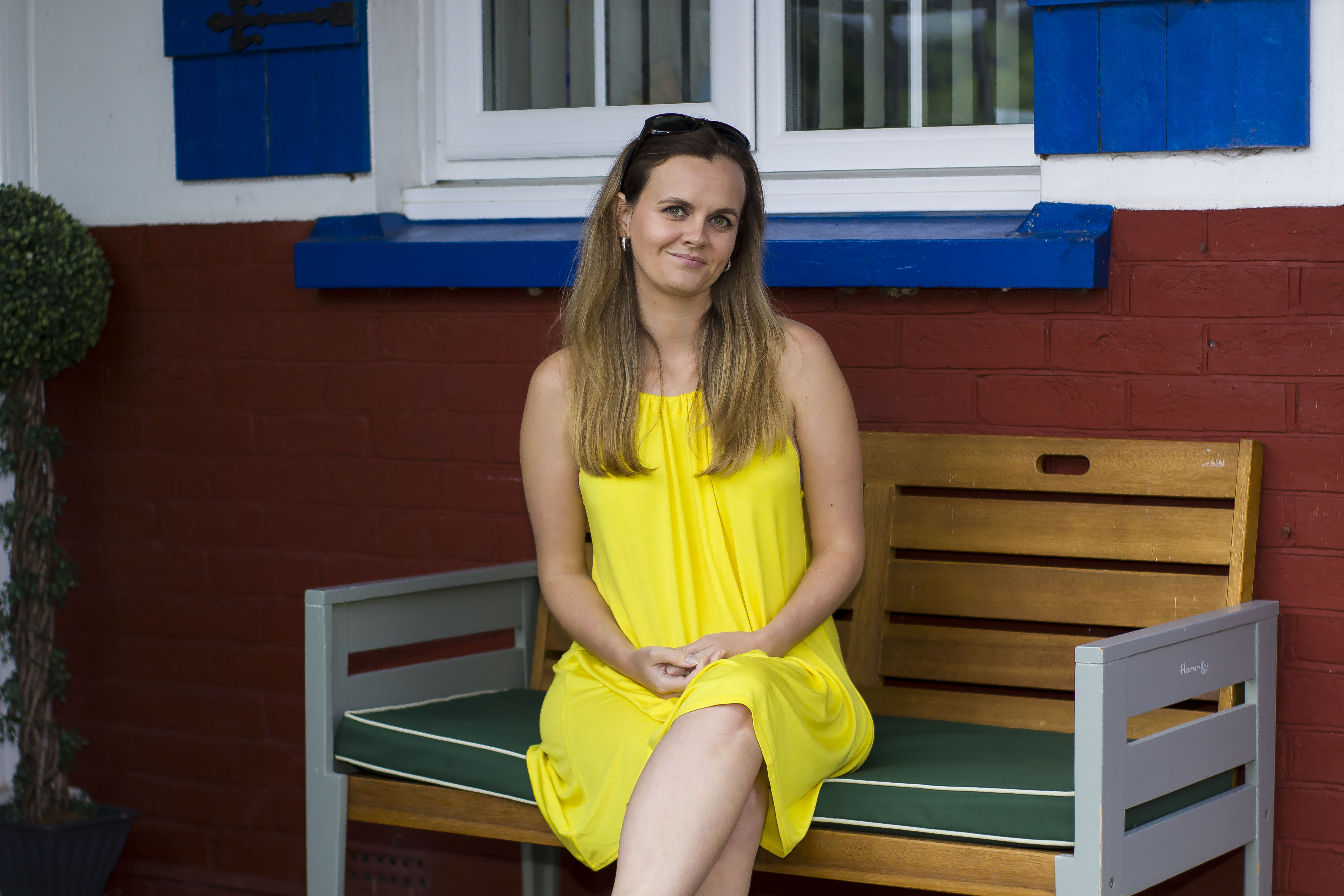 Summertime holiday yellow dress from boohoo