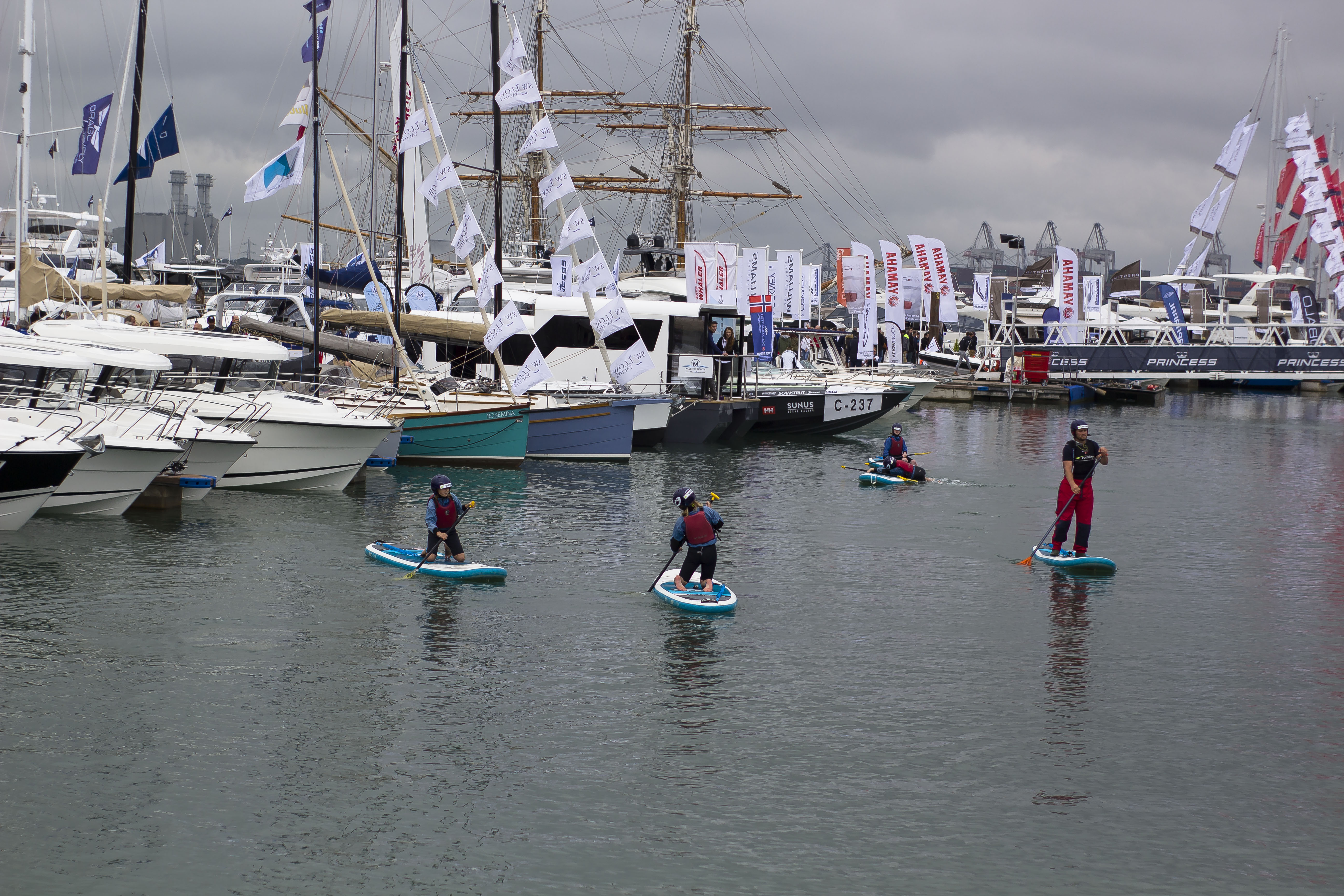 water sports at Southampton Boat Show