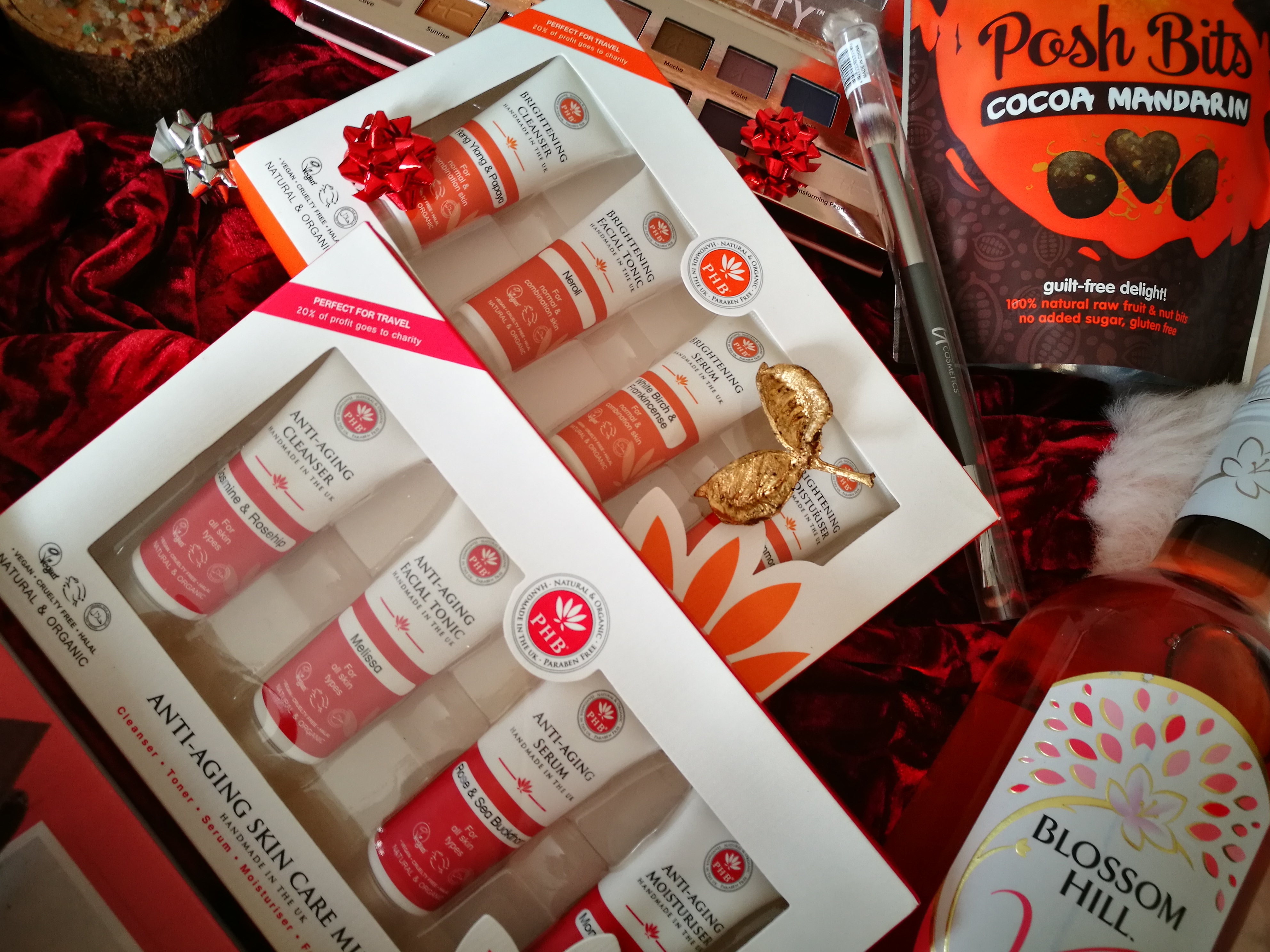 PHB Ethical Beauty Skin Care travel gift sets